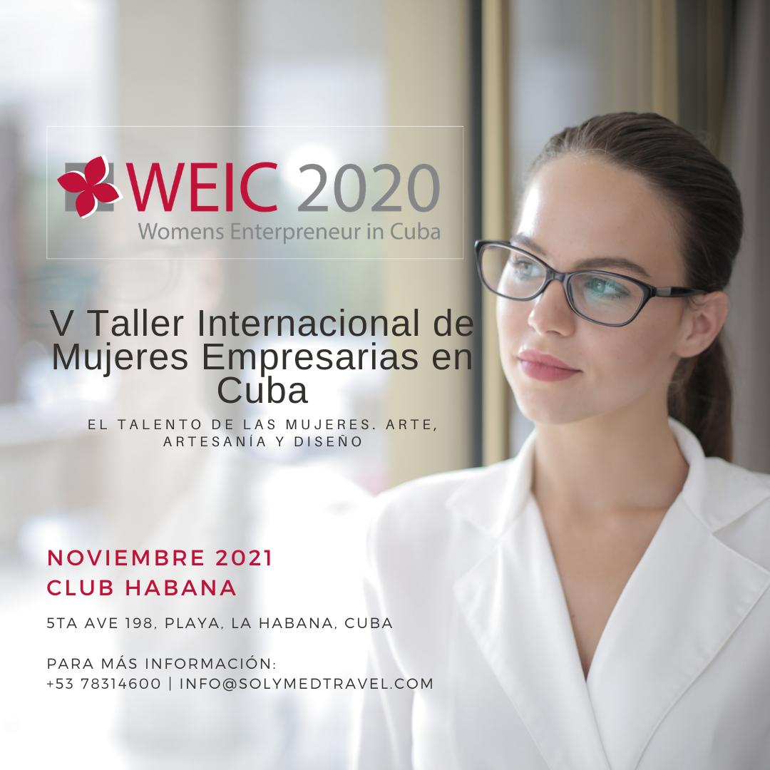 V Taller Internacional de Mujeres Empresarias 2021